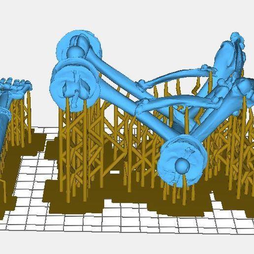 Cat1.JPG Télécharger fichier STL gratuit Catapulte squelette mort vivant - Warmachines • Plan pour impression 3D, BigMrTong