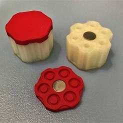 Descargar diseños 3D gratis Westlake Alpha.357 Cargador de revólver de carga de hocico Cargador de velocidad, BigMrTong