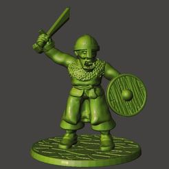 Download free 3D print files 28mm - Orc / Goblin / Hobgoblin Miniatures With Sword 2, BigMrTong