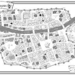 9b5888c478fa1c7f30725668dd503875_display_large.jpg Download free STL file Port Blacksand Map - Fighting Fantasy • 3D printable template, BigMrTong