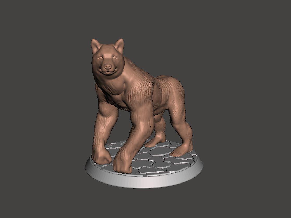 cc2.JPG Télécharger fichier STL gratuit Chien Singe - Garde de Porte - 28mm • Modèle pour imprimante 3D, BigMrTong