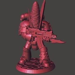 Download free 3D printer designs Kernel Korn - Chaos Space Knight, BigMrTong