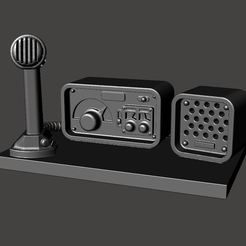 Download free 3D model 28mm HAM / CB Radio - Mansions of Madness / Fallout FWW, BigMrTong