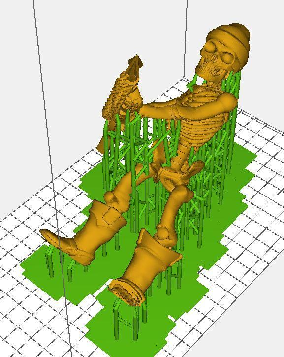 d821e9b4a30bd56acef7bcc745986b4b_display_large.JPG Télécharger fichier STL gratuit Guerrier Squelette Pirate 28mm avec Pistolet Harpoon • Design pour impression 3D, BigMrTong