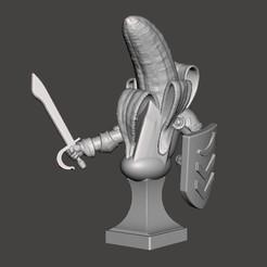 Descargar modelos 3D gratis Busto del Caballero del Plátano, BigMrTong