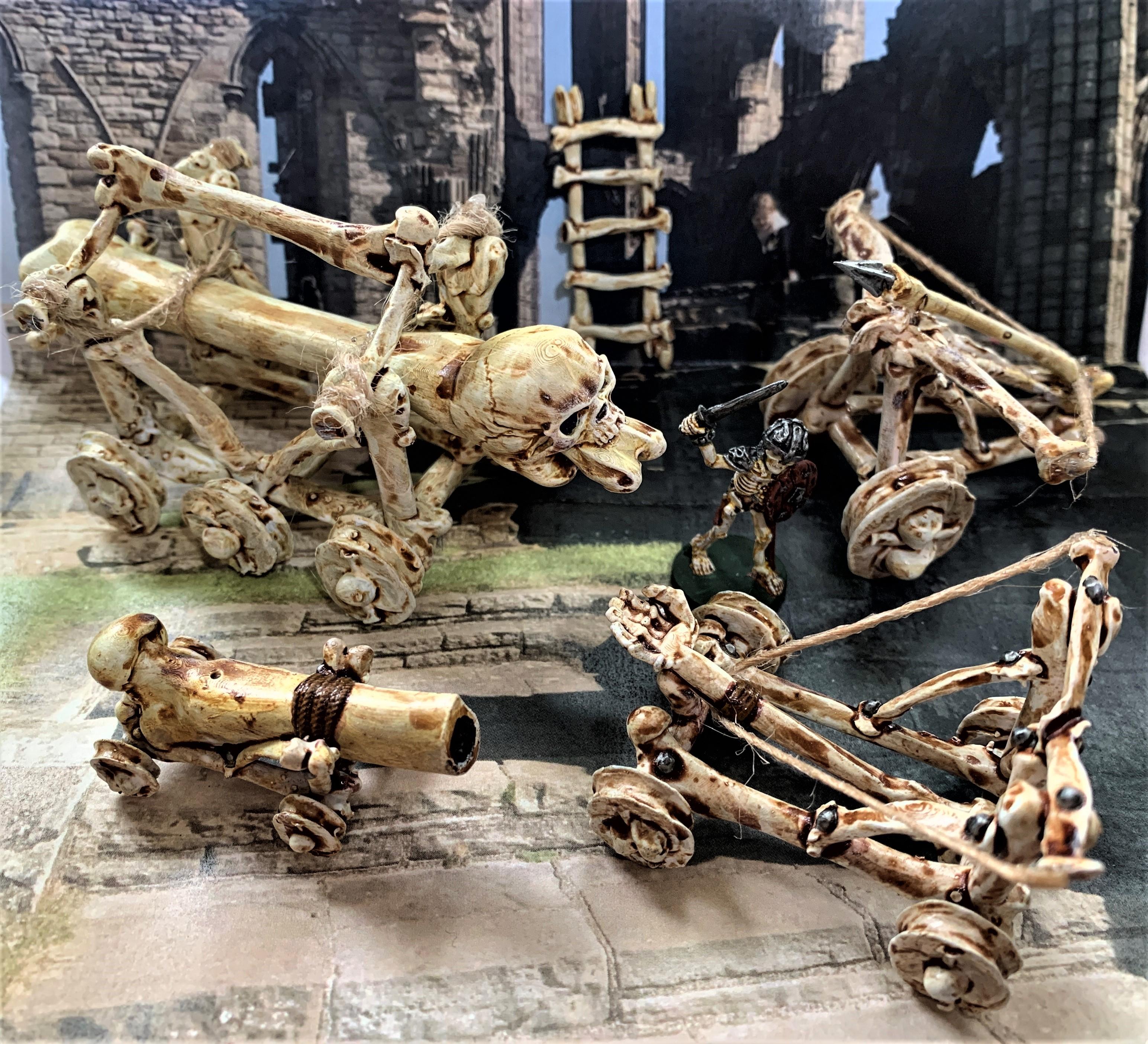 IMG_0615.JPG Télécharger fichier STL gratuit Catapulte squelette mort vivant - Warmachines • Plan pour impression 3D, BigMrTong