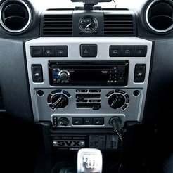 Descargar archivos STL gratis Landrover Defender Puma 2.2 / 2.4 Garmin SatNav Mount - Land Rover, BigMrTong