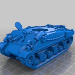 Impresiones 3D gratis 28mm - OddBall's Sherman Tank - Kelly's Heroes, BigMrTong