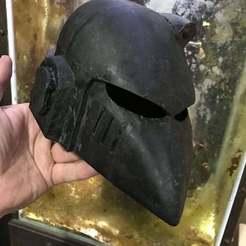 Download free 3D model Mk6 Space Marine Beakie Helmet, BigMrTong