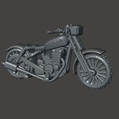 Descargar STL gratis Moto de 28mm para FWW, Dark Future, Gaslands y otros juegos post apocalípticos, BigMrTong