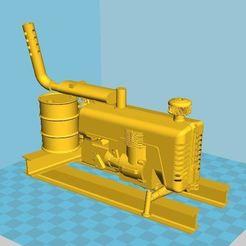 Impresiones 3D gratis FWW - Fallout Wasteland Warfare Large Generator, BigMrTong