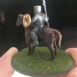 Download free STL files 28mm Knight of Serbia Miniature - Zombie Hunter, BigMrTong