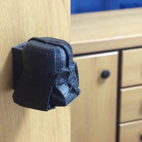 Télécharger fichier imprimante 3D gratuit Dark Vador Knob - Darkknob, Dournard