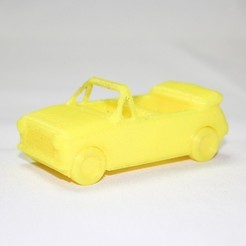 Free STL file Convertible Car Toy - LeFab Shop Remix, Dournard