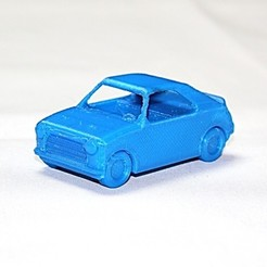 Free STL files Hot Hatch Car Toy - LeFab Shop Remix, Dournard