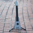 Free 3D model Playable Guitar - Printable Without Supports, Dournard
