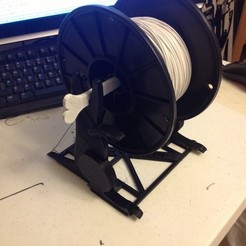 Download free 3D printer designs Spool O Saurus - Dinosaur Spool Holder for 3D printers, Dournard