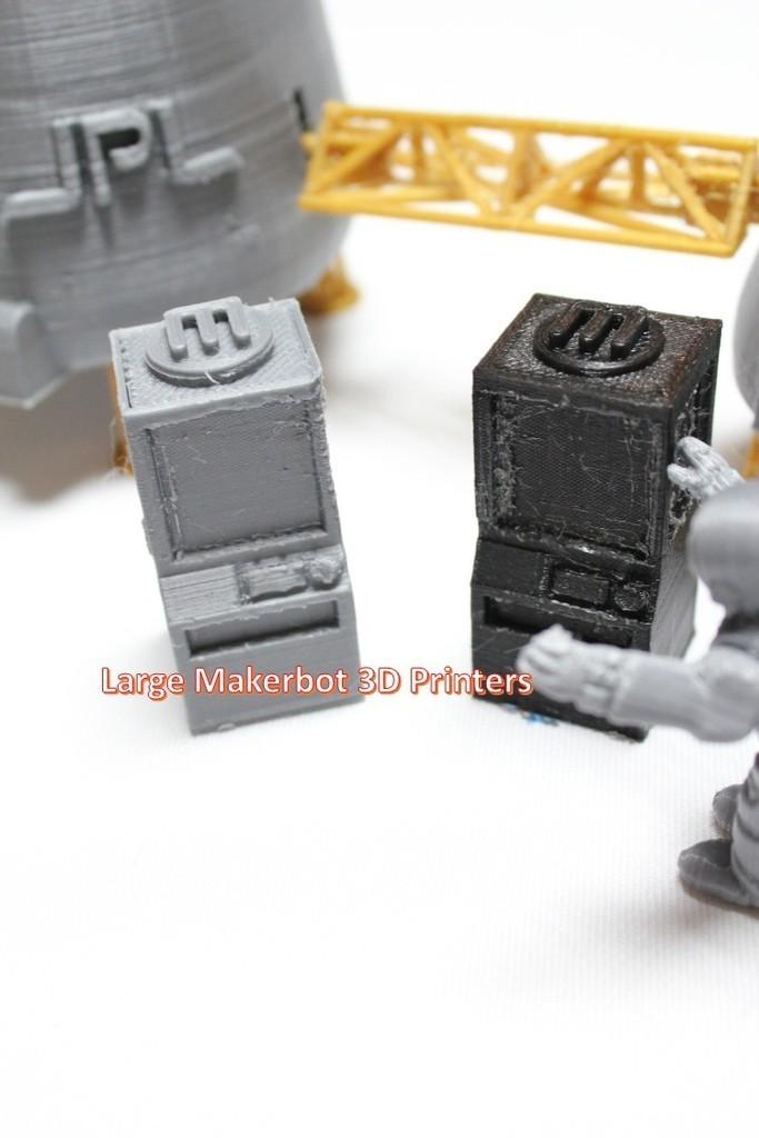 a7_display_large.jpg Télécharger fichier STL gratuit Astronaut Action Figure Play Set pour l'invasion extraterrestre de Mars • Modèle à imprimer en 3D, Dournard