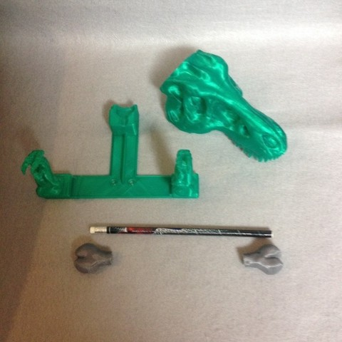 IMG_3397_display_large.jpg Download free STL file T-REX Remix Bathroom Set • Design to 3D print, Dournard
