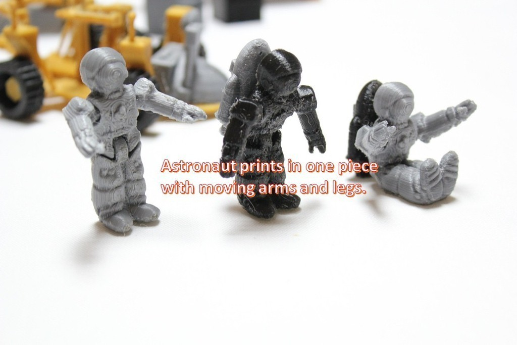 a15_display_large.jpg Télécharger fichier STL gratuit Astronaut Action Figure Play Set pour l'invasion extraterrestre de Mars • Modèle à imprimer en 3D, Dournard
