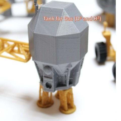 a6_display_large.jpg Télécharger fichier STL gratuit Astronaut Action Figure Play Set pour l'invasion extraterrestre de Mars • Modèle à imprimer en 3D, Dournard