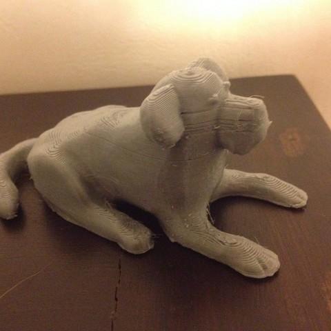 Descargar modelo 3D gratis Modelo Cachorro / Perro, Dournard