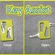 Download free 3D printer designs Arthritis Assist - Button Assist, Zipper Pull, Key Assist, and Bag Handle, Dournard