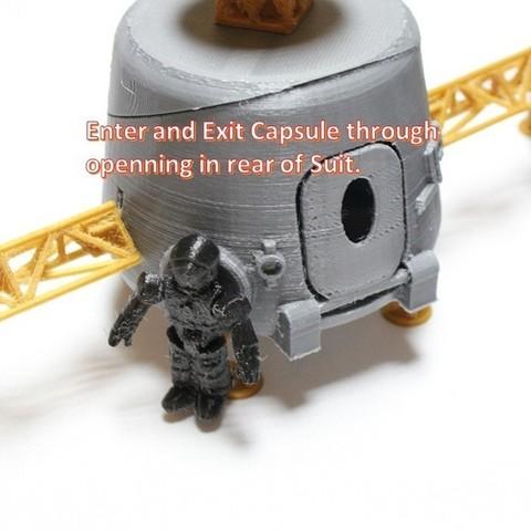 a13_display_large.jpg Télécharger fichier STL gratuit Astronaut Action Figure Play Set pour l'invasion extraterrestre de Mars • Modèle à imprimer en 3D, Dournard