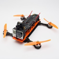 Download free 3D printer files Hovership MHQ2, 3DflyerBertrand
