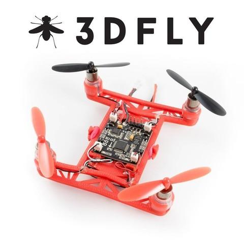 Download free 3D printer files Hovership 3DFLY Micro Drone, 3DflyerBertrand