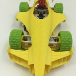 Free 3D model FlexCar With 3D Printed Parts, 3DflyerBertrand