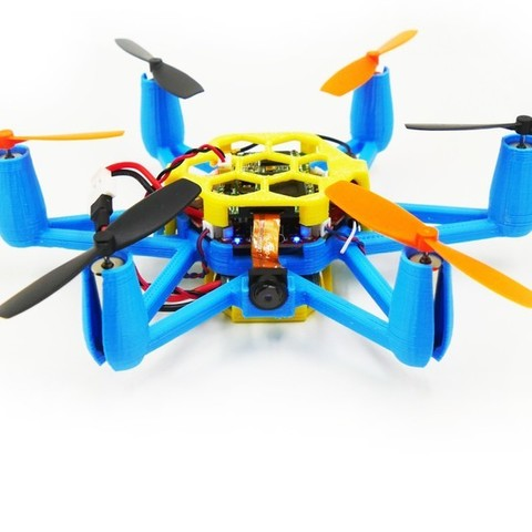 Download free STL files Flexbot Hexacopter V2.0 With FlexCam, 3DflyerBertrand