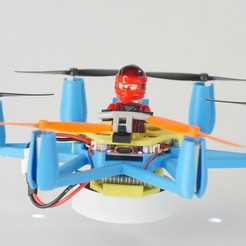 Free 3D printer designs Flexbot With Lego, 3DflyerBertrand