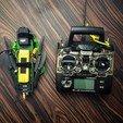 Fichier impression 3D gratuit Hovership MHQ - Mini hélicoptère pliable H-Quadcopter, 3DflyerBertrand