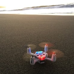 Descargar Modelos 3D para imprimir gratis Quadcopter Flexbot V2.0, 3DflyerBertrand