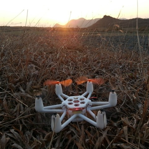 Download free 3D printing templates Flexbot-hexacopter, 3DflyerBertrand