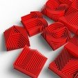 Télécharger fichier STL gratuit Caractères imprimables 3d Heatwave • Design pour impression 3D, Minnarrra