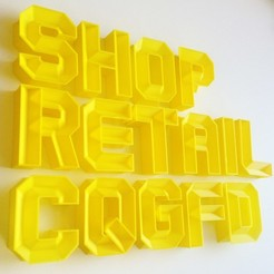 Letters1_display_large.JPG Download free STL file Crossbeam Typeface • 3D printer object, Minnarrra
