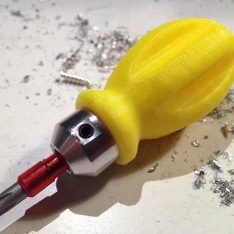 Download free 3D printing templates screwdriver, Minnarrra