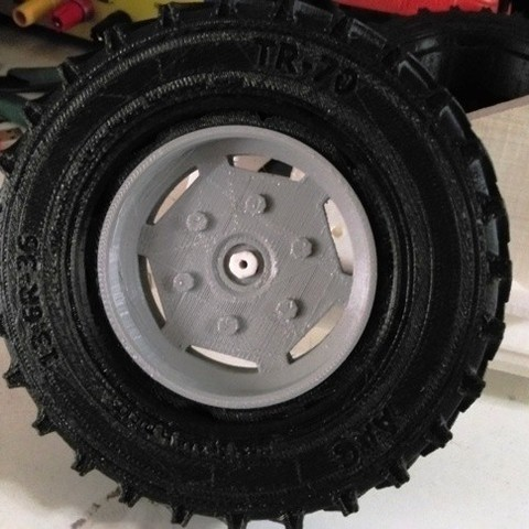 Download free 3D printer model Open RC tractor wheel RIM (ID of Tyre should be 73 mm), Aakaar_Lab