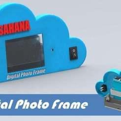 Télécharger fichier imprimante 3D gratuit Cadre photo numérique utilisant un arduino et un écran TFT de 2,4 pouces, Aakaar_Lab