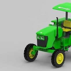 Descargar Modelos 3D para imprimir gratis Réplica del tractor RC (Nuevo) John deere, Aakaar_Lab