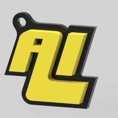 Free 3D printer files Key chain Aakaar Lab, Aakaar_Lab