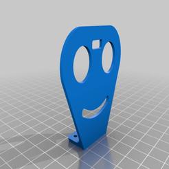 Imprimir en 3D gratis Soporte ultrasónico HCSR04, Aakaar_Lab