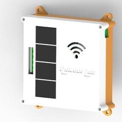 Télécharger modèle 3D gratuit Wifi (ESP8266-12F) basé sur 4 Relais de contrôle, Aakaar_Lab