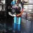 Télécharger plan imprimante 3D gatuit Support E3D pour Anet A8 pour chariot en aluminium x existant, Aakaar_Lab