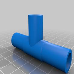 Imprimir en 3D gratis Junta en T (9 mm de diámetro interior) para tubos de 9 mm de diámetro exterior, Aakaar_Lab