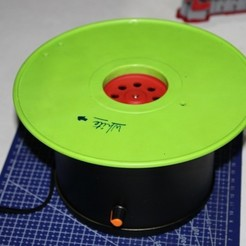 Free 3D printer files Poor-mans Low Cost Rotating table for painting and for display products, Aakaar_Lab