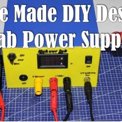 Free STL files Home Made Desktop Lab power supply, Aakaar_Lab