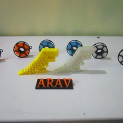 Free STL file Name key chain, Aakaar_Lab